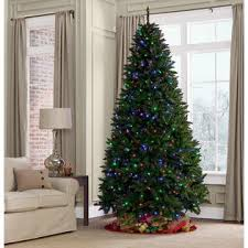 showtime 9 dual color laramie pine pre lit tree