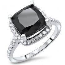 white and black diamond engagement rings buy black diamond engagement rings online shop now and save