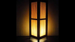 Lampshade For Floor Lamp Bamboo Floor Lamp By Colormehouse Com Youtube