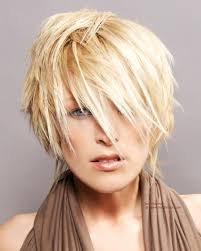 hairstyles to cover ears short blonde hairstyle with textured hair that covers the ears