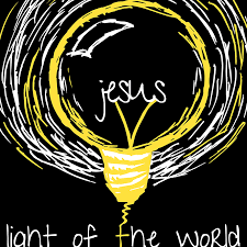 lights of the world address jesus light of the world hand drawn vector art