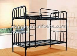 Spacesaving White Military Steel Bunk Bedmetallicsteel Twin - Dorm bunk bed