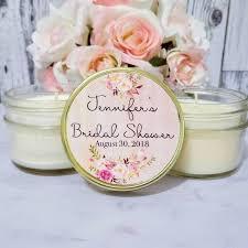 candle party favors blush bridal shower favors bridal shower candle favors blush