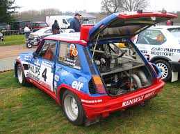 renault 5 turbo group b renault 5 turbo race retro u002708 alex cleland flickr