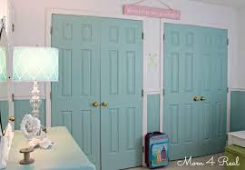 Paint Closet Doors Kate S Cottage Bedroom Reveal Painted Closet Closet Doors And Doors