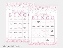 wedding words for bingo 100 bridal bingo cards pink bridal shower bingo