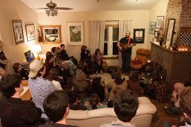 David Bazan Living Room Tour | boston area living room shows november 14 15 pedro the lion