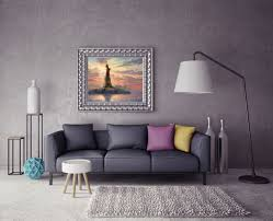 aliexpress com buy h1392 thomas kinkade statue of liberty aliexpress com buy h1392 thomas kinkade statue of liberty landscape hd canvas print home decoration living room bedroom wall pictures art painting from