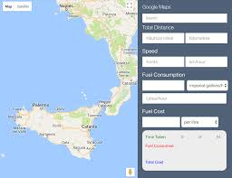 Calculate Tolls Google Maps How To Calculate Yacht Fuel Cost The Boat Fuel Calculator Tool