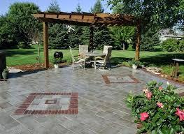 Backyard Pavers Cost by Brick Paver Patio Material Cost Brick Paver Patio Thin Brick