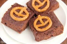 pumpkin pretzel halloween brownies amy u0027s healthy baking