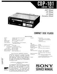 sony cdp 101 service manual immediate download