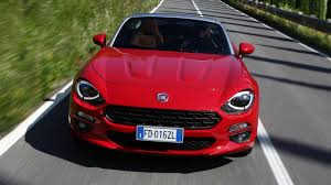 fiat spider 2016 review the new fiat 124 spider top gear