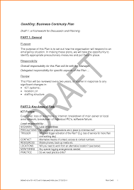 sample of business continuity plan business plan cmerge
