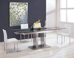 add a touch of style using modern kitchen table sets lestnic