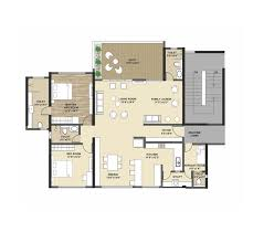 floor plan kolte patil tuscan estate at kharadi pune