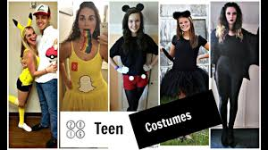 halloween costume ideas for teen girls youtube