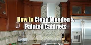 How To Wash Cabinets How To Clean Wooden Kitchen Cabinets 6326