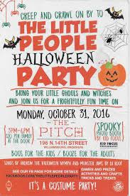 the little people halloween party at the pitch 3pm u2013 6pm kids party