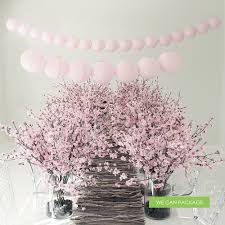 cherry blossom table decorations wedding pinterest table