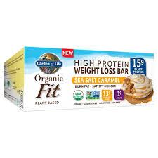 amazon com garden of life organic fit bar sea salt caramel 12
