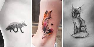 these 47 fox tattoos are the best you ll see tattooblend