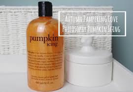 philosophy pumpkin icing a beauty junkie in london