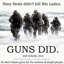 Navy Seal Meme - awesome meme post obliterates liberals tired old gun control