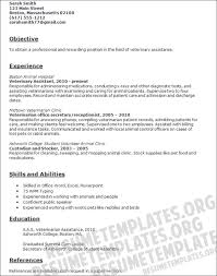 veterinary assistant resume template are events of resumes that we
