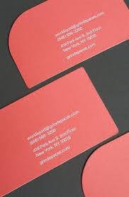 Extra Thick Business Cards Publicide Inc Nyc Printing Letterpress And Design Die Cut The