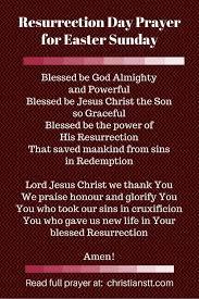 resurrection day prayer easter prayer and blessings christianstt
