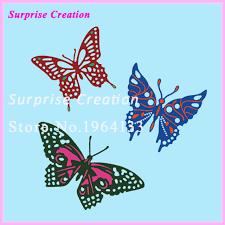 Cutting Dies For Card Making - aliexpress com buy surprise creation cuting dies butterflies
