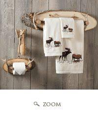 elk antler for bath towels rustic cabin decor pinterest elk