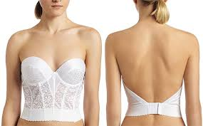 bustier bra for wedding dress backless strapless corset bra tulips clothing