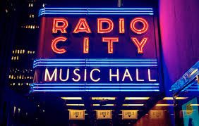 Radio City Music Hall Floor Plan by Radio City Music Hall Electric Blue Red U2014 Bossfight
