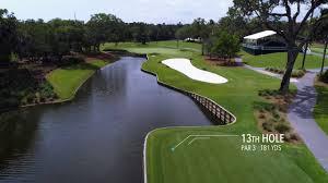 flyover of tpc sawgrass u0027s players stadium course golf com youtube