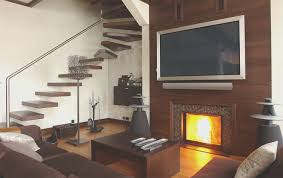 home creative fireplace creative how to install tv over fireplace home decor