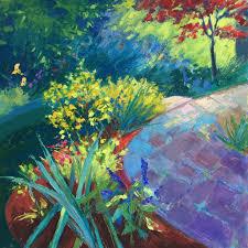 laura wooten studio backyard landscapes