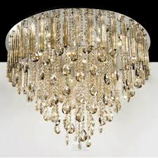 All Crystal Chandelier Light From 12x 20w G4 Lamps And 9x 3w Led U0027s Shines Through Multi