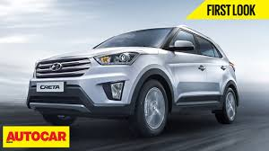 kereta hyundai hyundai creta first look autocar india youtube