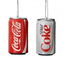 coca cola licensed products themed ornaments and city