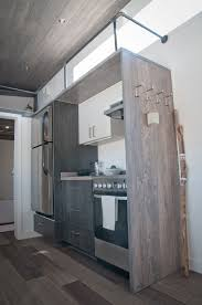 The 420 Square Foot Sakura Tiny House On Wheels By Minimaliste Tiny House Plans In Canada