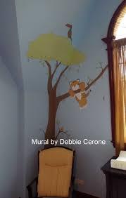 art ideas by debbie cerone jungle murals jungle safari nursery mural lion