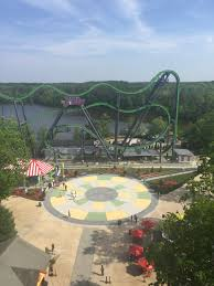 New York Six Flags Great Adventure Amusement Parks Five Little Words