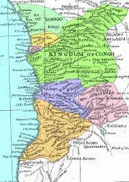 7 Kingdoms Map History Kingdom Of Kongo