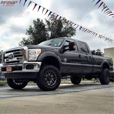 Ford F250 Truck Wheels - ford f 250 xd series xd127 bully wheels matte gray and black ring