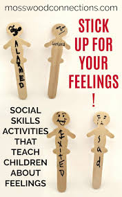stick up for your feelings social skills activity u2022 mosswood