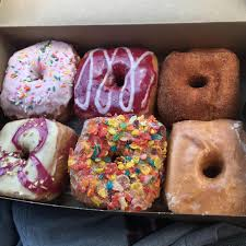 today i had these delicious donuts from valkyrie doughnuts in