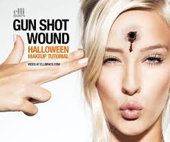 gun shot wound sfx makeup tutorial with pictures