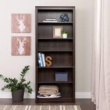 5 Shelf Bookcase Espresso Espresso Bookcase 5 Shelf Trestle Bookcase Espresso Room